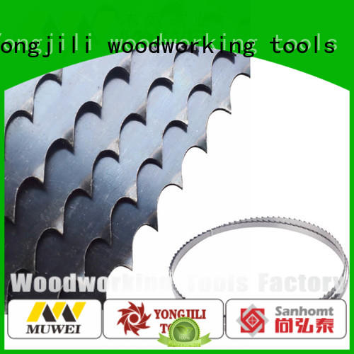 Muwei hard curve 62 inch band saw blade supplier for wood sawing