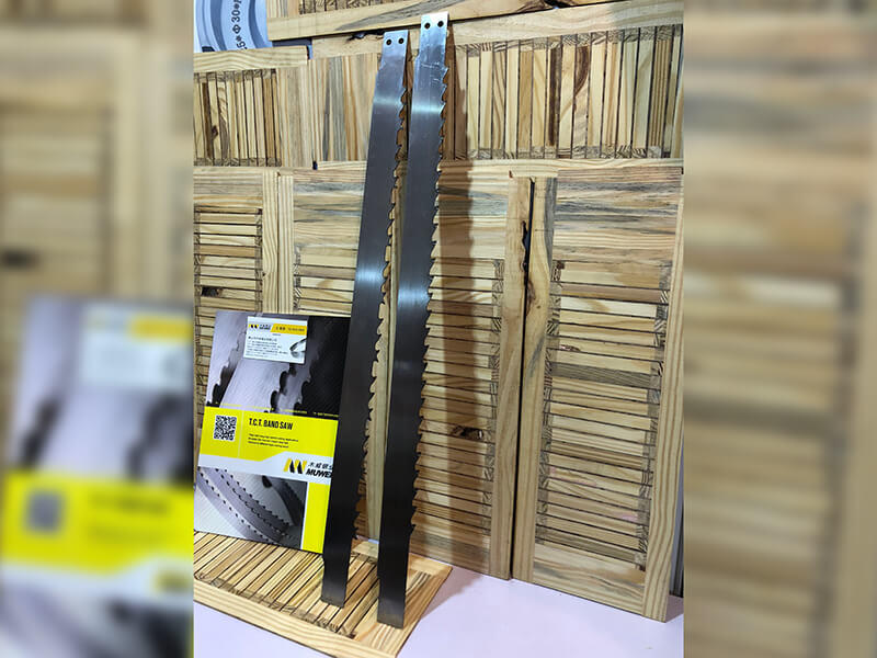 Muwei carbide craftsman band saw blades 80 inch wholesale for wood sawing-1