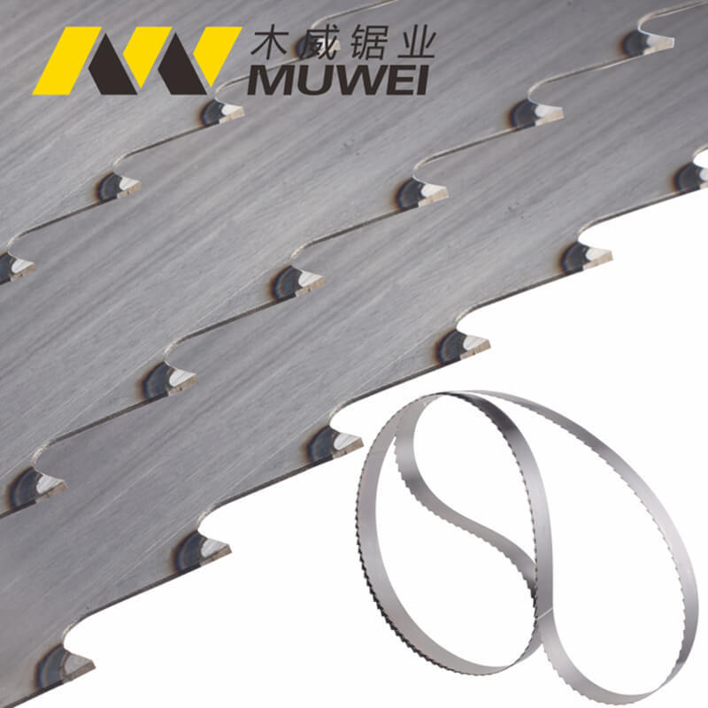 Stellite Alloy Band Saw Blade For Cutting Hard Wood and Soft Wood
