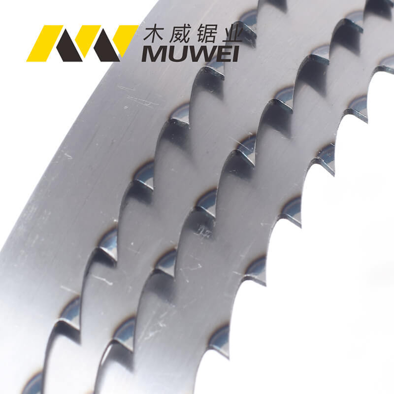 Food Quenching Band Saw Blade For Cutting Frozen Food, Meat, Bone