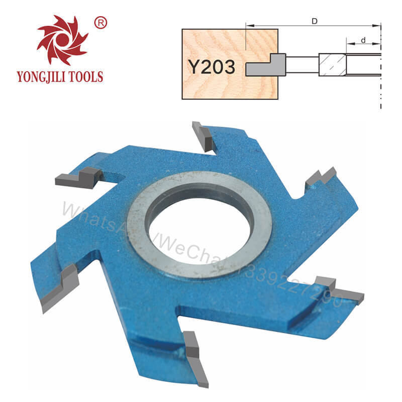 Wholesale Carbide Grooving Spindle Moulder Cutter Head No.203
