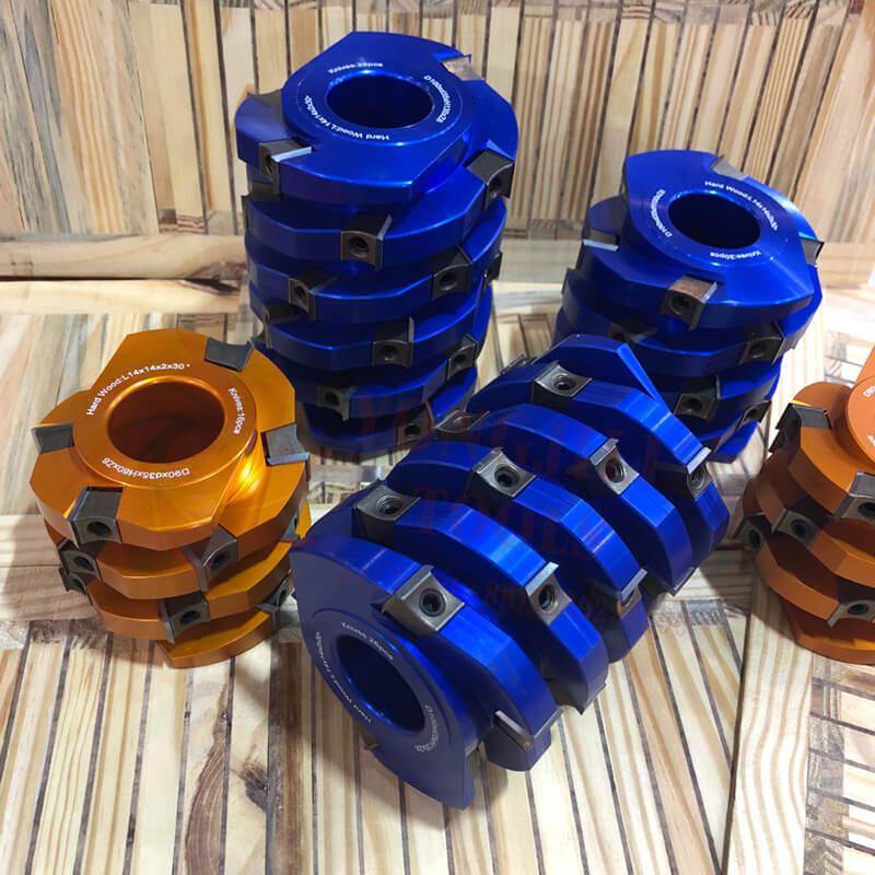 Muwei high quality spiral cutterhead supplier for four side moulder
