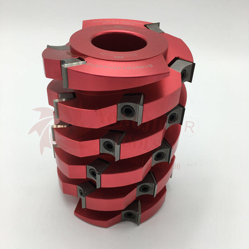 professional shelix helical cutterhead light duty manufacturing for shaping machine