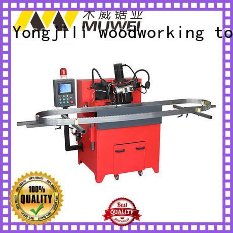 Muwei hard curve belt grinder factory direct for wood sawing