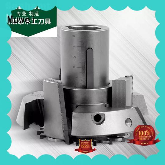 Muwei carbide powermatic spiral cutterhead manufacturer for CNC tenon woodworking