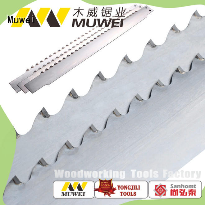 Muwei carbide craftsman band saw blades 80 inch wholesale for wood sawing