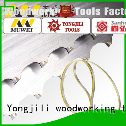 Muwei hard curve 80 inch band saw blade manufacturer for wood sawing