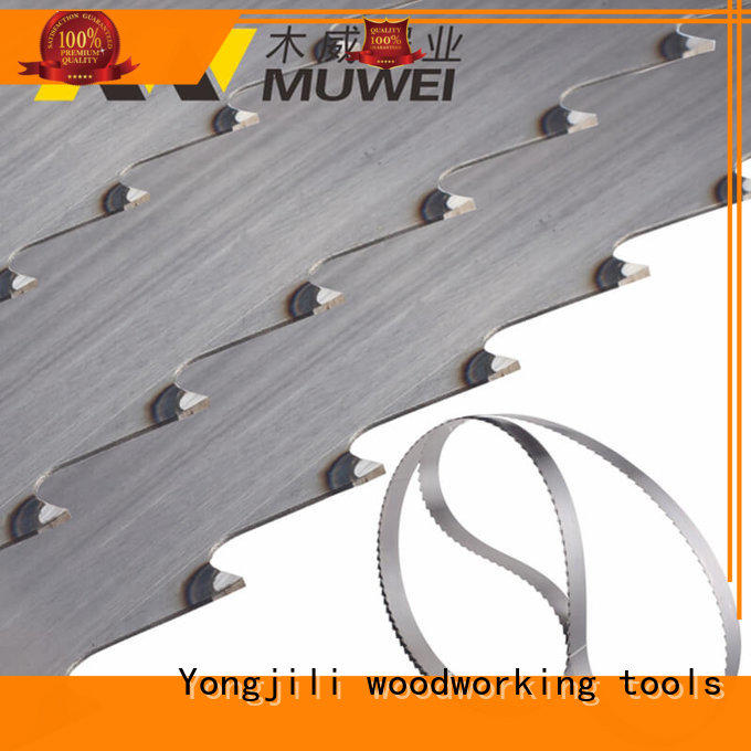 Muwei hard curve best band saw blade for metal factory direct for furniture