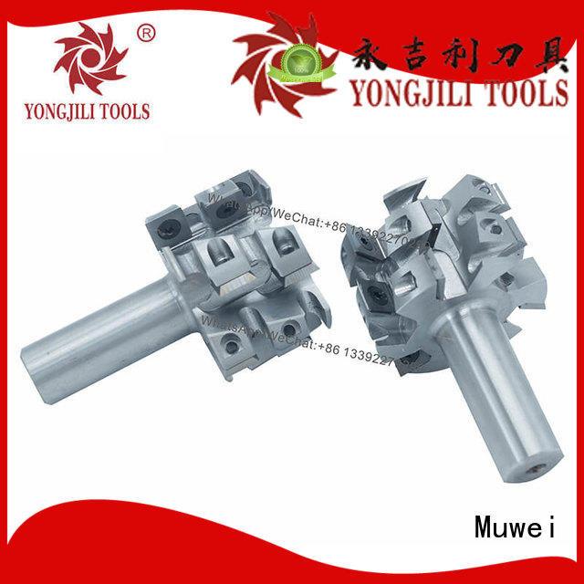 Muwei professional byrd helical cutterhead OEM for spindle moulder