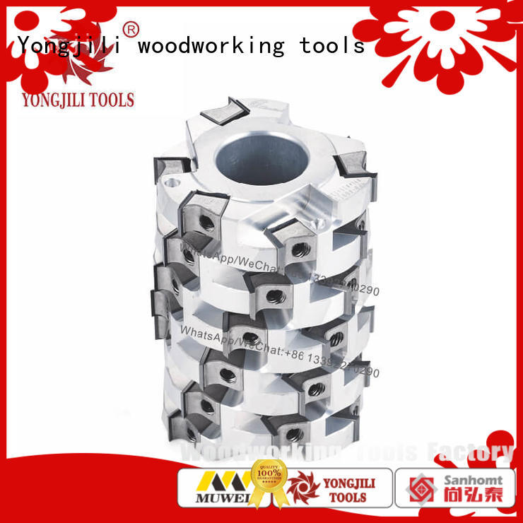 Muwei heavy duty helical cutterhead for jet jointer manufacturing for spindle moulder