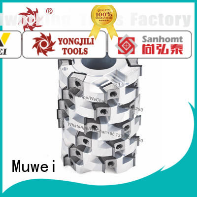 Muwei spiral helical head planer manufacturing for four side moulder