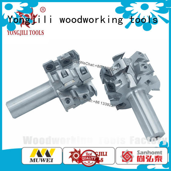 Muwei high quality replaceable Cutter Head customized for shaping machine