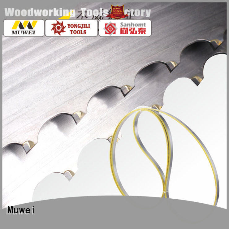 Muwei hot sale craftsman 12 inch band saw blades factory direct for wood sawing