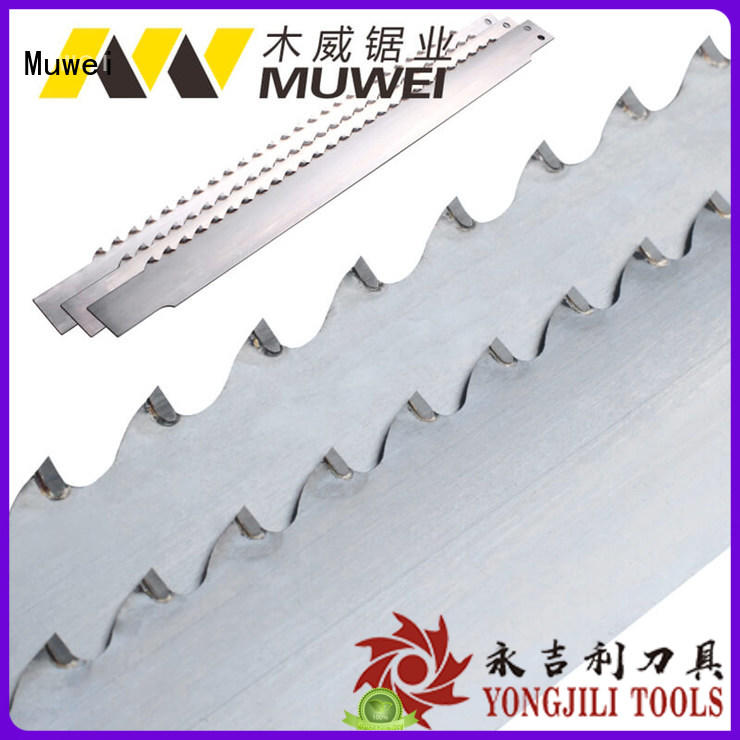 Muwei efficient diamond band saw blades factory direct for furniture