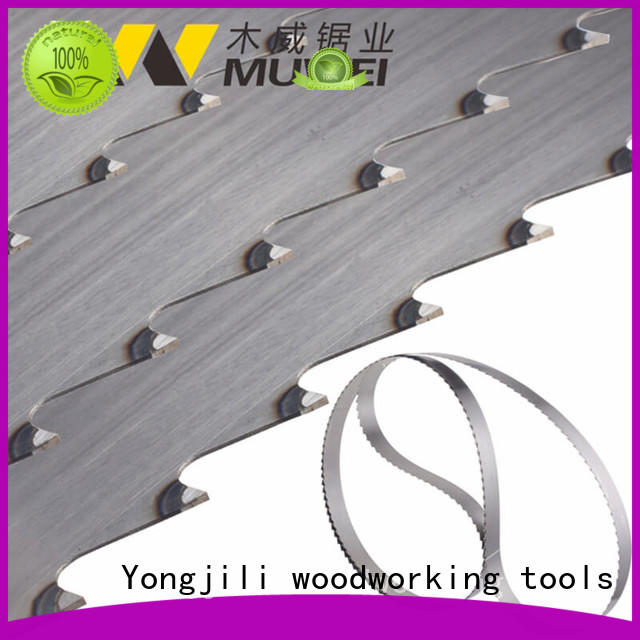 super tough 80 inch band saw blade metal cutting manufacturer for frozen food processing plants