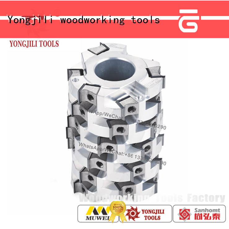 Muwei high quality byrd shelix helical cutterhead smooth surface for shaping machine
