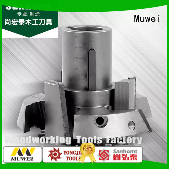 Muwei fully automatic grooving cutters factory for spindle moulder