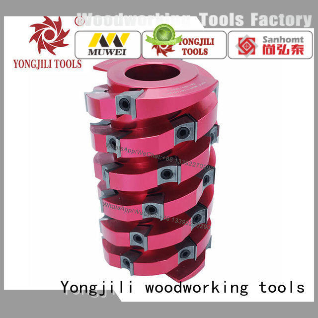 high quality spiral Cutter Head TCT inserts OEM for four side moulder
