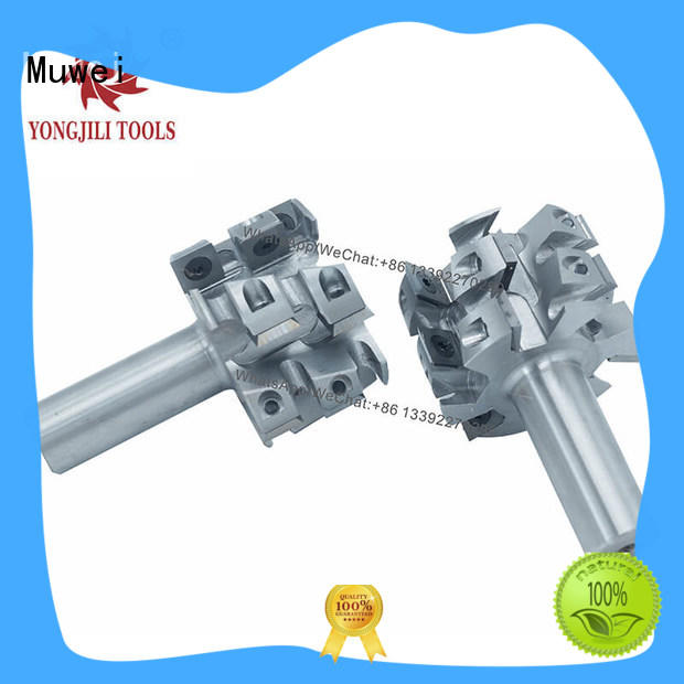 reliable spiral Cutter Head TCT inserts spiral manufacturing for shaping machine