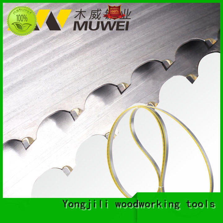 Muwei metal cutting best band saw blade for stainless steel supplier for wood sawing