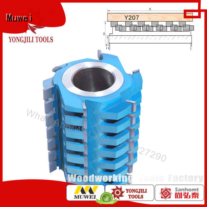 Muwei professional spindle moulder cutter blocks manufacturer for edge trimming