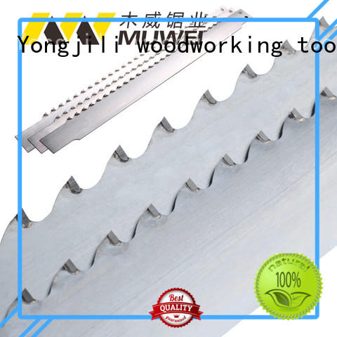 Muwei hard curve best band saw blade for metal supplier for wood sawing