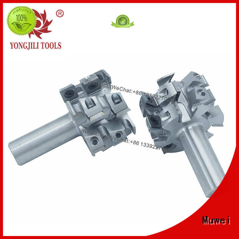 Muwei high quality byrd helical cutterhead OEM for spindle moulder
