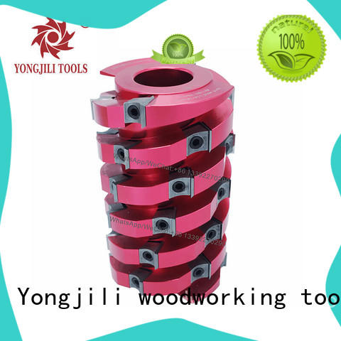professional spiral cutterhead planer aluminum manufacturing for shaping machine
