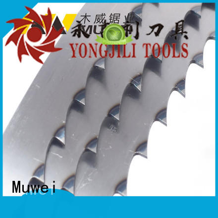 Muwei efficient craftsman 12 inch band saw blades manufacturer for wood sawing