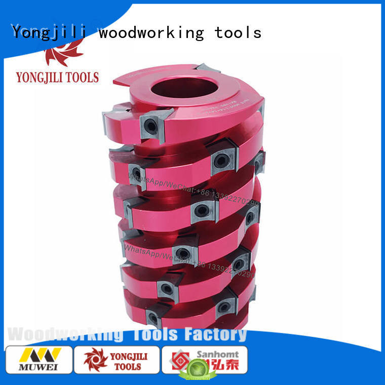 low cost spiral cutterhead planer aluminum factory direct for shaping machine