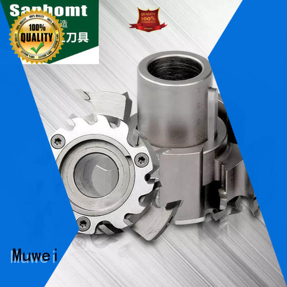 Muwei professional trend spindle moulder cutters series for CNC tenon woodworking