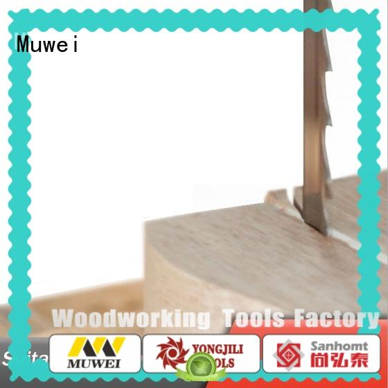 Muwei stellite alloy best band saw blades manufacturer for wood sawing