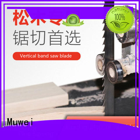 Muwei stellite alloy 10 inch band saw blades supplier for frozen food processing plants
