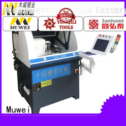 Muwei carbide cnc cylindrical grinding machine manufacturer for wood sawing