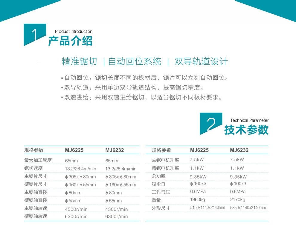 carbide alloy beam saw machine manufacturer for furniture Muwei-4