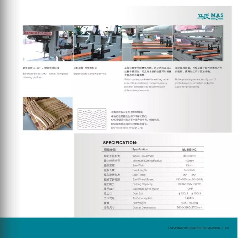 Muwei efficient beam saw for sale supplier for furniture-3