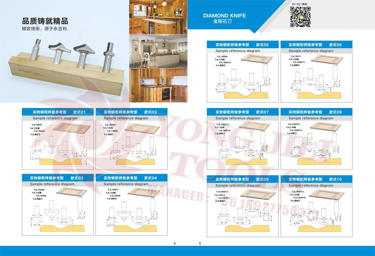 Muwei carbide router bits manufacturer for edge trimming