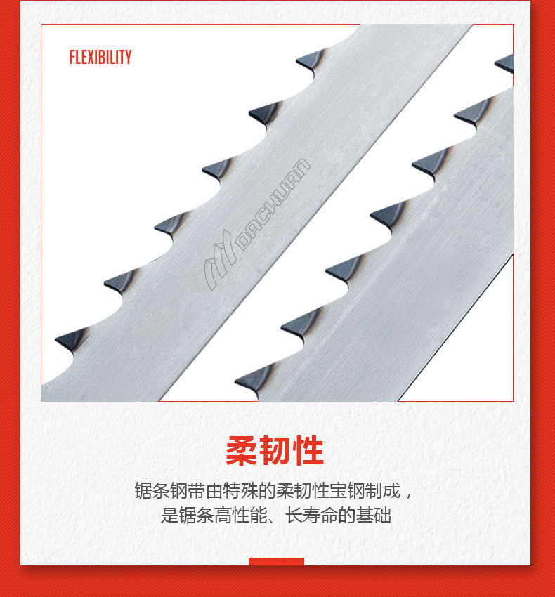 super tough 10 inch band saw blades metal cutting supplier for frozen food processing plants-5