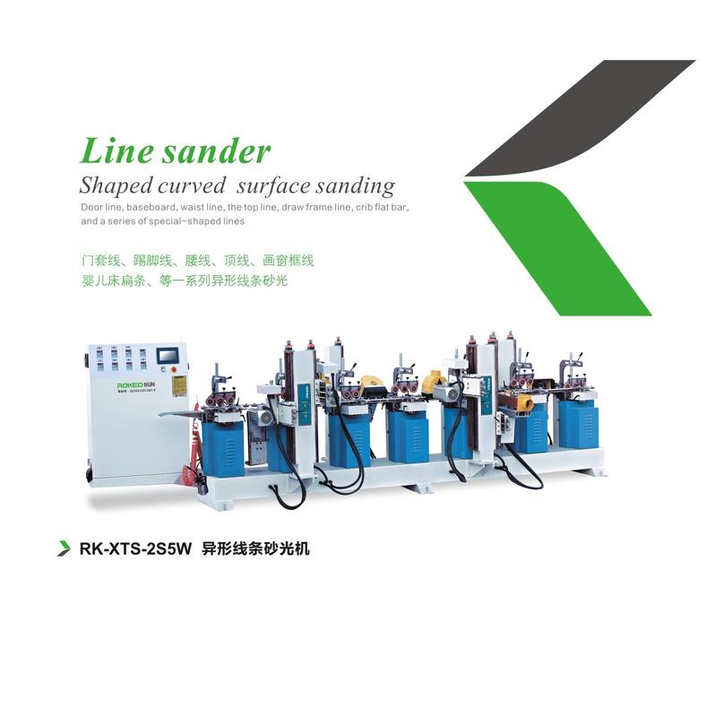 SANHOMT ROKED  Line sander shaped curved surface sanding RK-XTS-2S5W