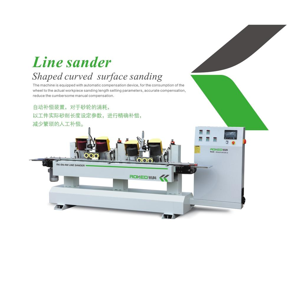 SANHOMT ROKED  Line sander shaped curved surface sanding  RK-SN-4W