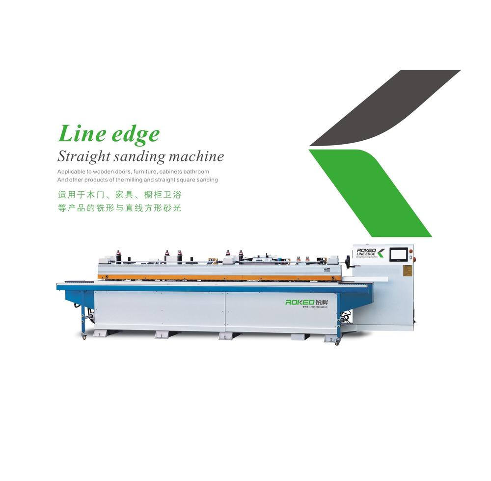 SANHOMT/Yongjili/ROKED   Line Straight sanding machine  RK-MS-1X2S2D3W