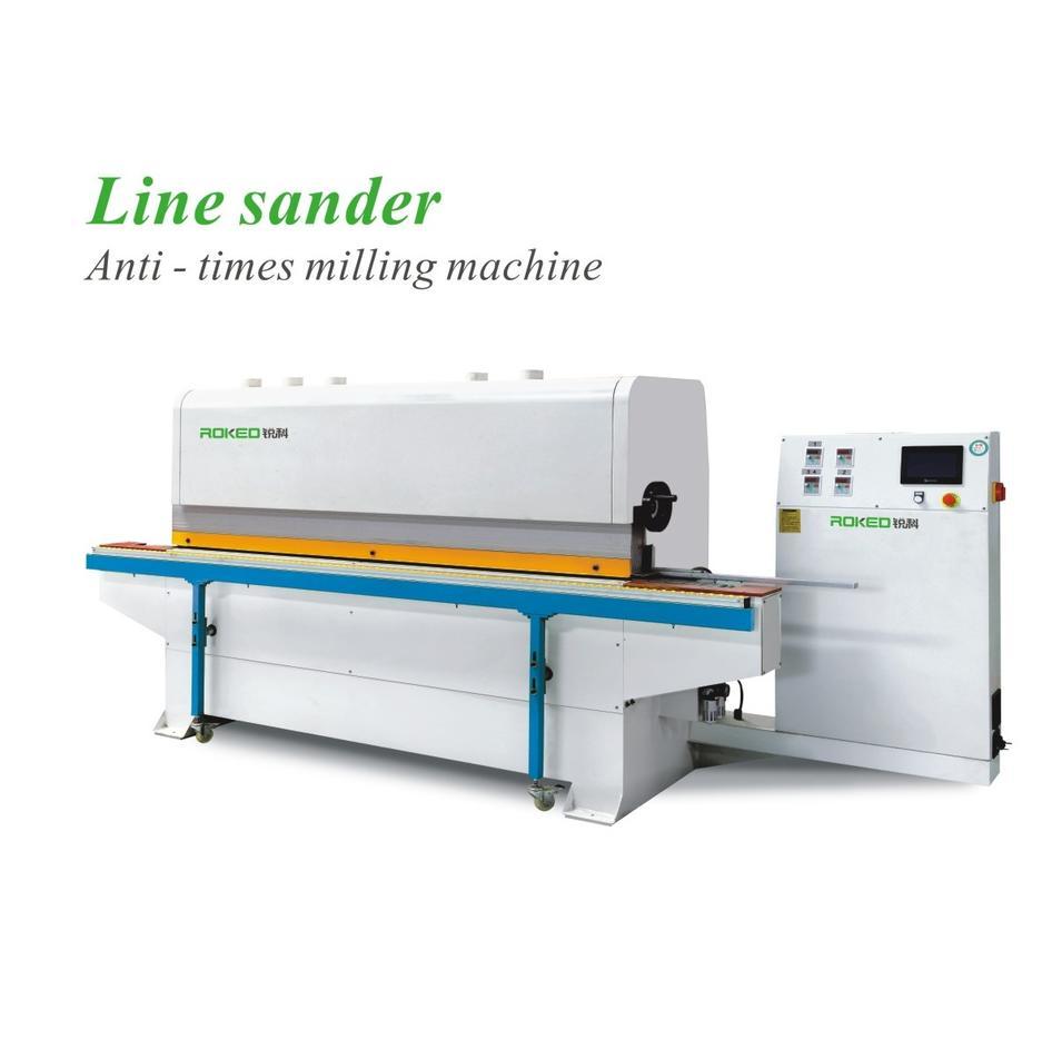 SANHOMT/Yongjili/ROKED   Line sander Anti-times milling machine RK-KXB-2X2D