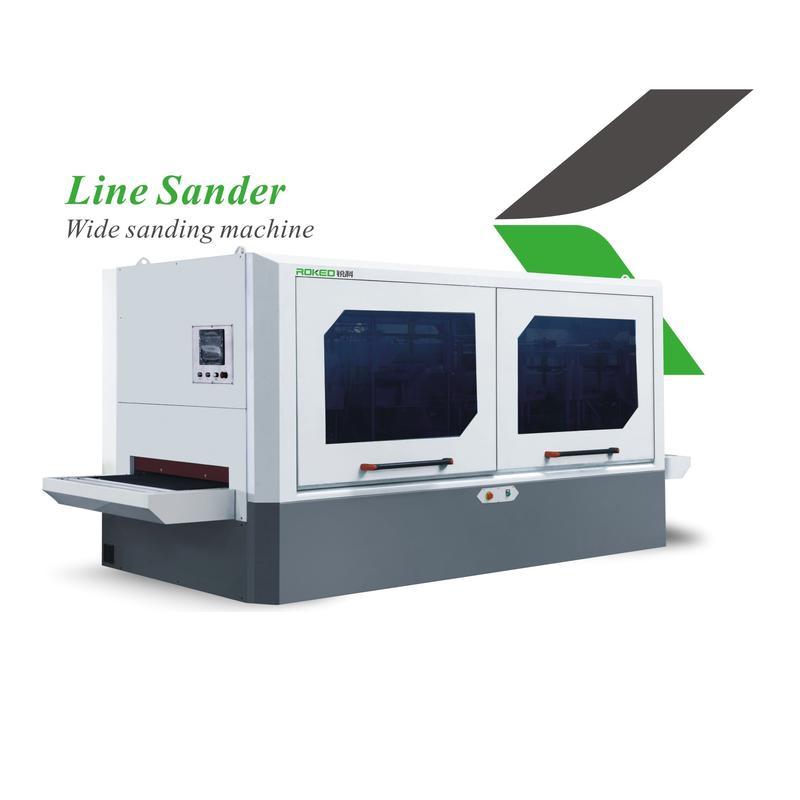 SANHOMT/Yongjili/ROKED   Line sander Wide sanding machine  KFS-1000-V2H2R2