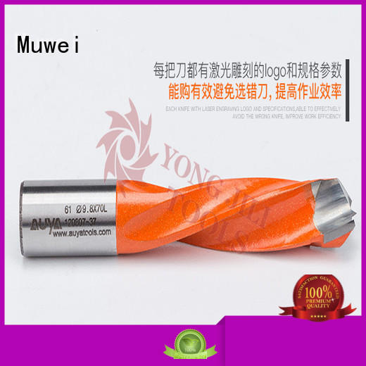Muwei low cost hole cutter bit factory direct for shaping machine