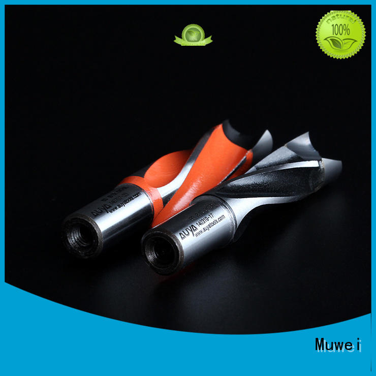 reliable hole drill bit steel customized for shaping machine