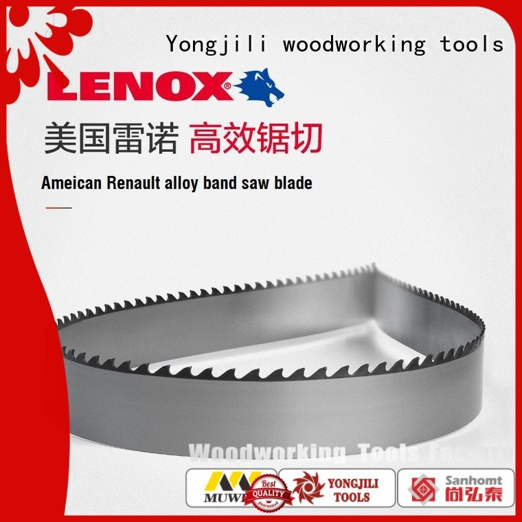 Muwei stellite alloy carbide band saw blade supplier for frozen food processing plants