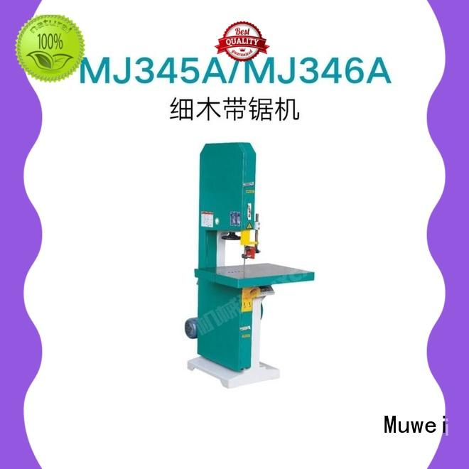 Muwei metal cutting belt grinder supplier for wood sawing