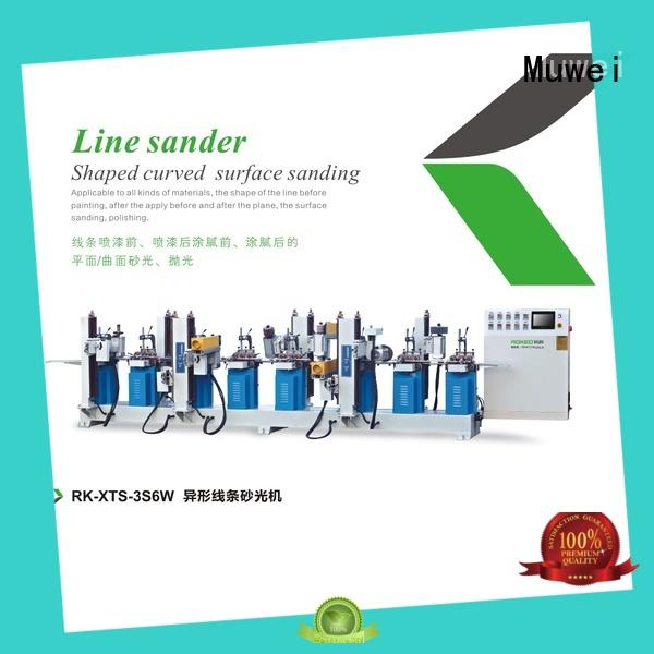 Muwei hard curve bench grinding machine factory direct for wood sawing