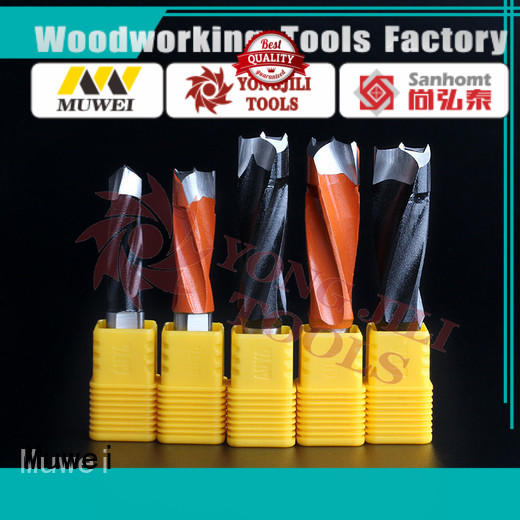 Muwei reliable drill cutter cutterhead for spindle moulder