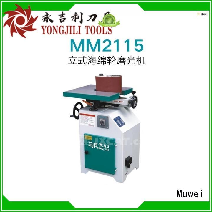 Muwei steel sharpening machine supplier for wood sawing